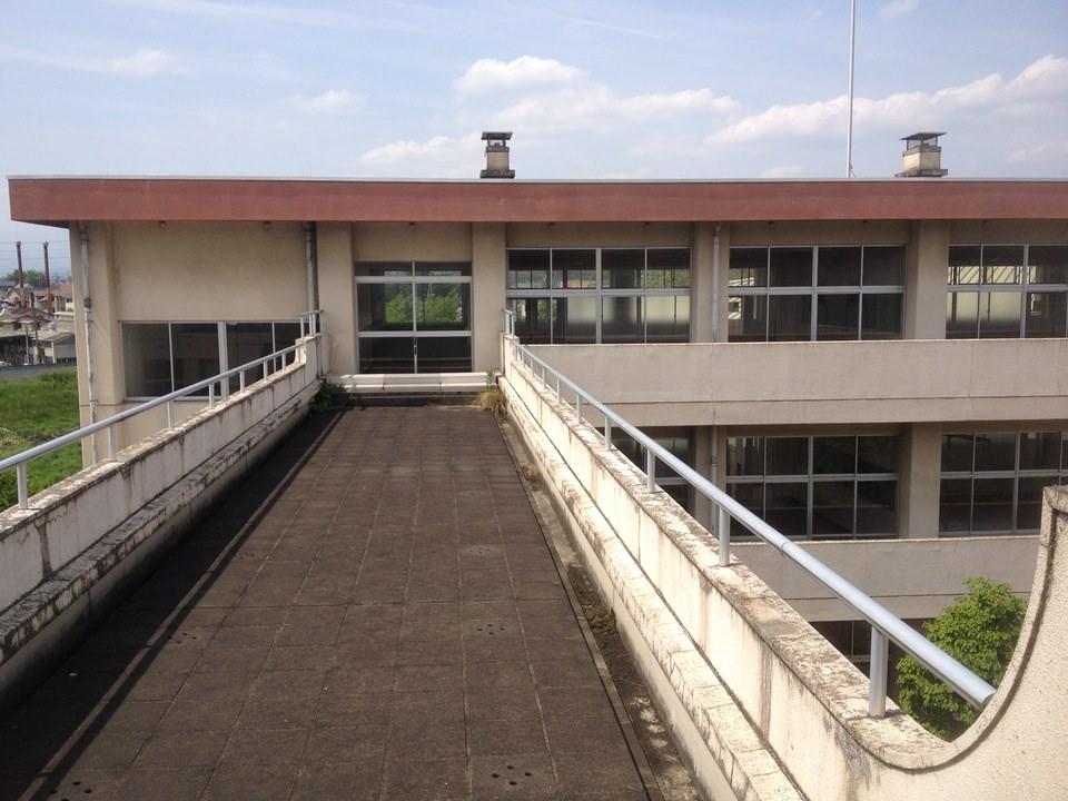 軟葉高校は栃木県足利市の『旧足利西高校』