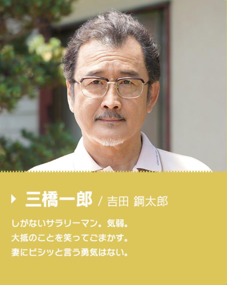 三橋一郎役:吉田鋼太郎
