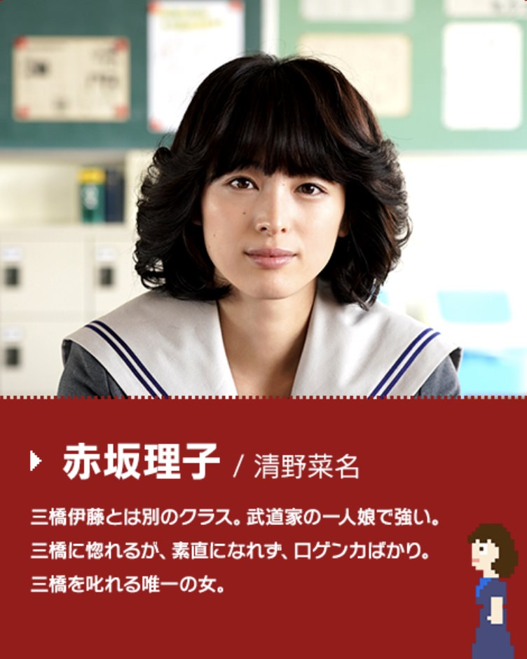 赤坂理子役:清野菜名