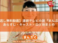【見逃し無料動画】連続テレビ小説『まんぷく』あらすじ・キャスト・ロケ地まとめ