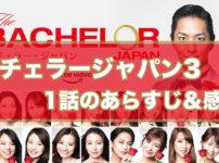 【見逃し配信】『バチェラー・ジャパン シーズン3』1話のネタバレあらすじ&感想