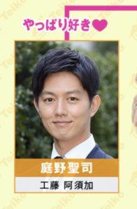 庭野聖司役:工藤阿須加