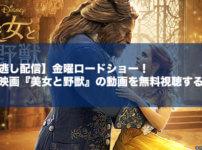 【見逃し配信】金曜ロードショー!実写映画『美女と野獣』の動画を無料視聴する方法