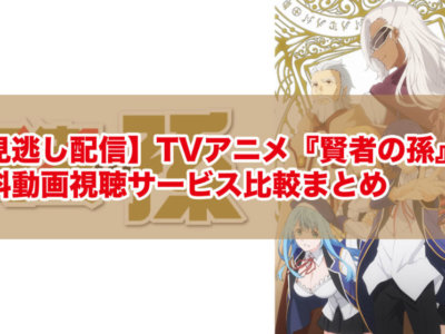 【見逃し配信】TVアニメ『賢者の孫』の無料動画視聴サービス比較まとめ