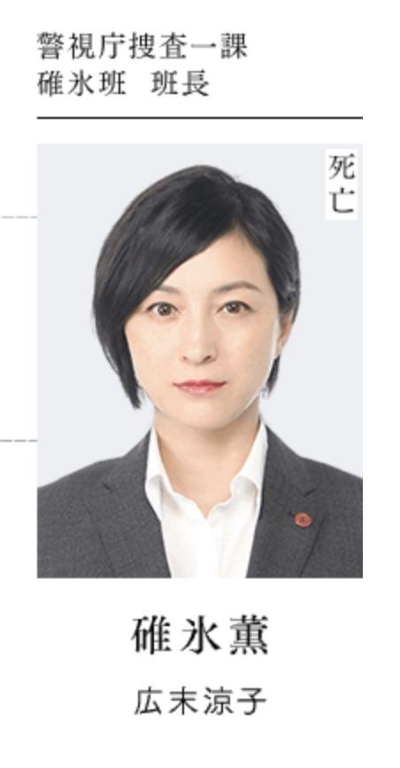 碓氷薫役: 広末涼子