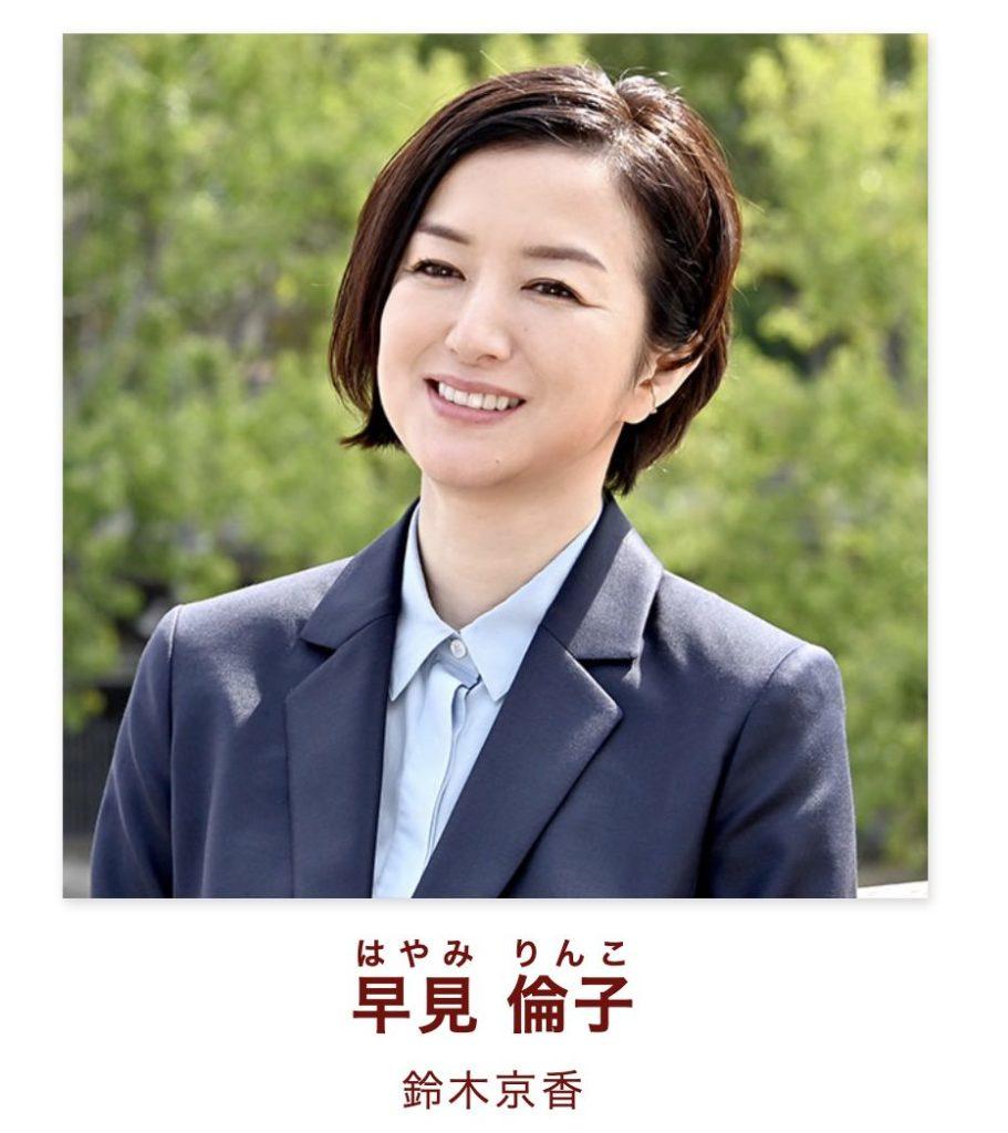 早見 倫子役:鈴木京香
